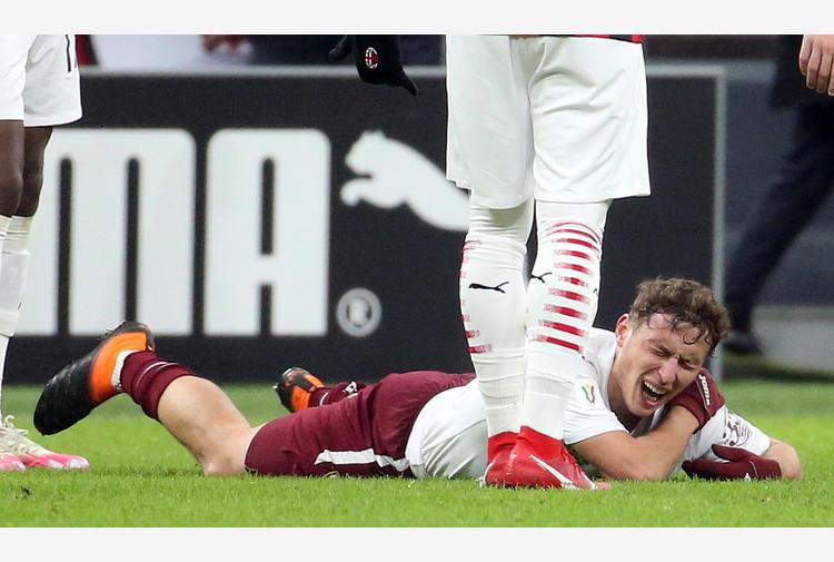 Torino: lussazione spalla, Vojvoda rischia lungo stop