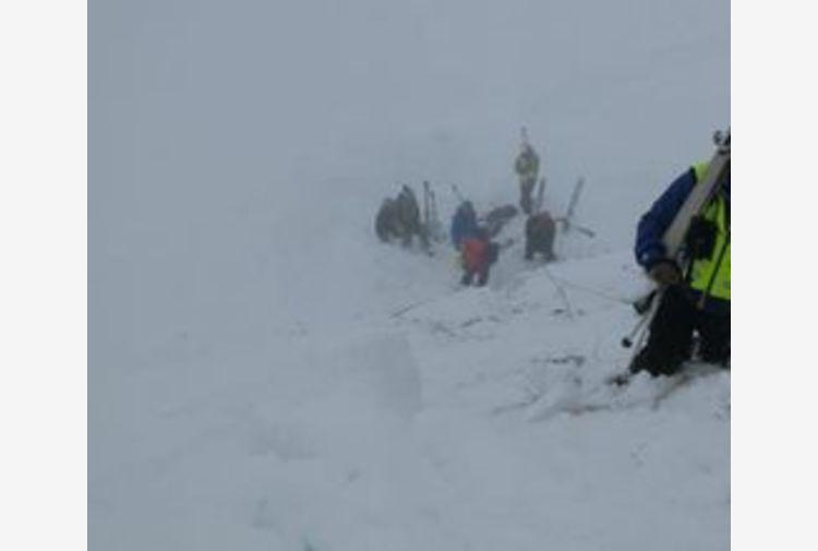 Scialpinista disperso sul Pordoi, localizzata la salma