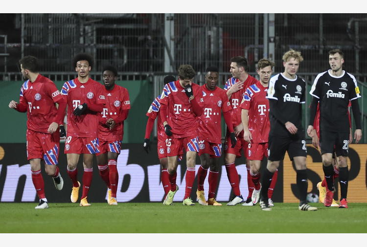 Coppa di Germania, Bayern eliminato da club serie B
