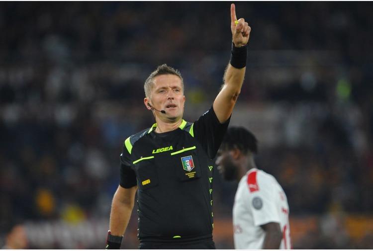 Serie A: Orsato arbitra Lazio-Roma, Inter-Juventus a Doveri