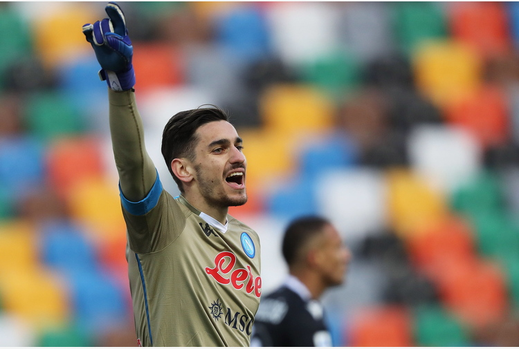 Calcio: Napoli; Meret, spero in 2021 con più continuità