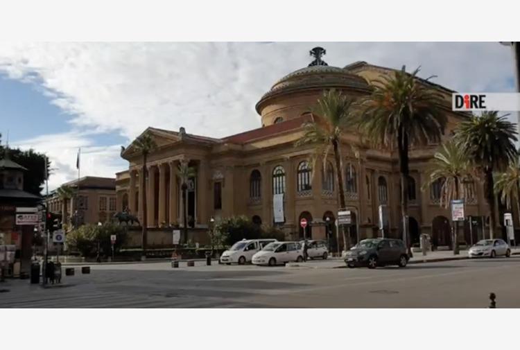 Palermo, primo giorno in 'zona rossa': runner e poche auto in strada