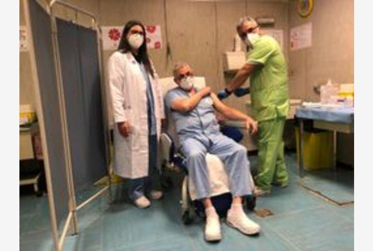 Cominciati in Umbria richiami vaccino Covid