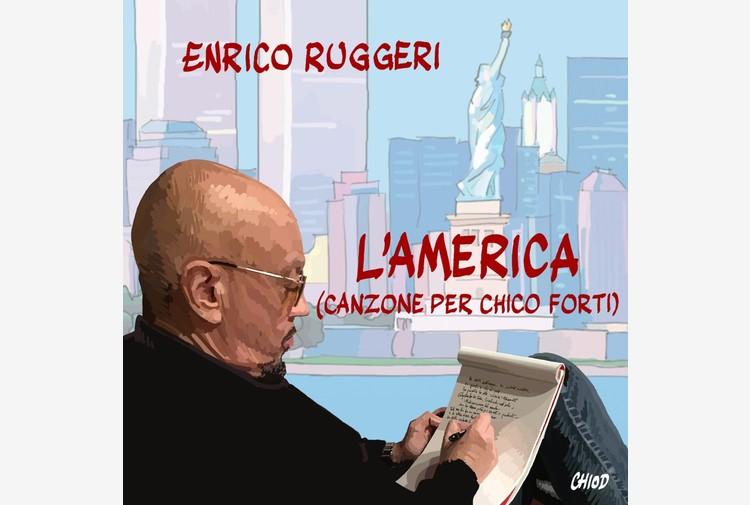 Enrico Ruggeri, esce 'L'America (Canzone per Chico Forti)'