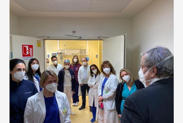 Puglia, a Lecce attivati 16 posti in terapia intensiva