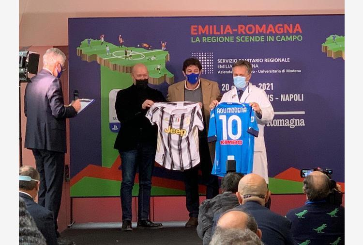 Supercoppa: Ferrara, io allo stadio dopo tanto tempo