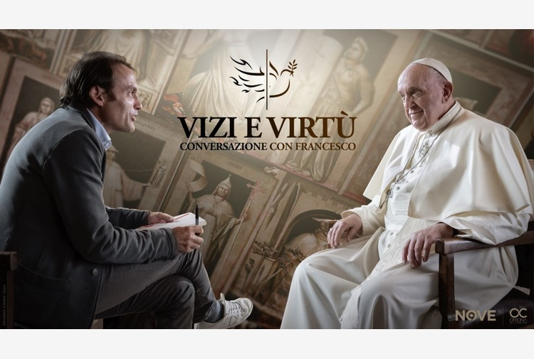 Vizi e virtù, conversazione con Francesco, serie evento tv