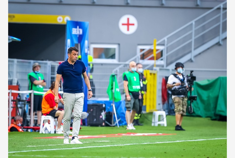 Coppa Italia, D'Aversa 'Niente alibi, daremo tutto con la Lazio'