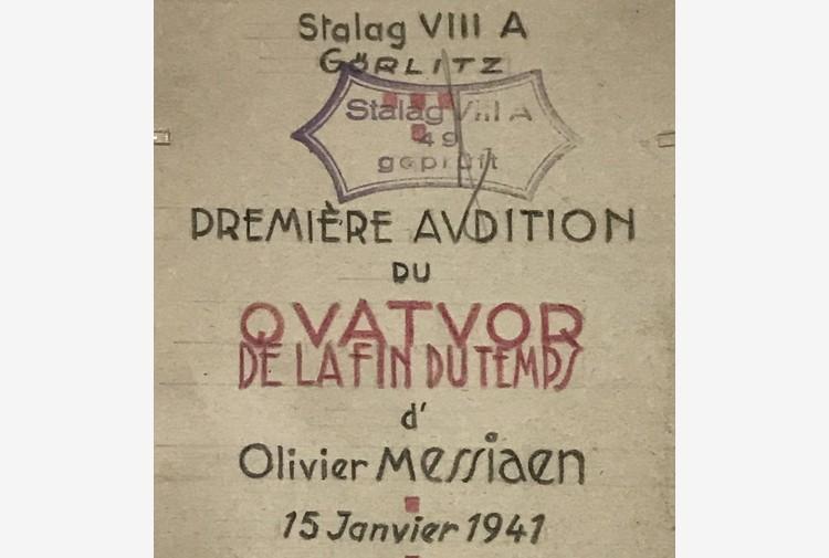 Giorno Memoria, Il tempo della fine nella musica di Messiaen
