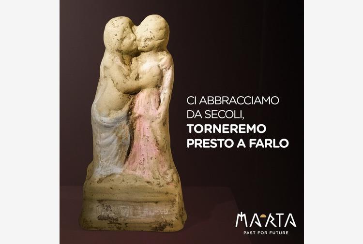 MarTa Taranto, su Fb abbraccio millenario Eros-Psiche
