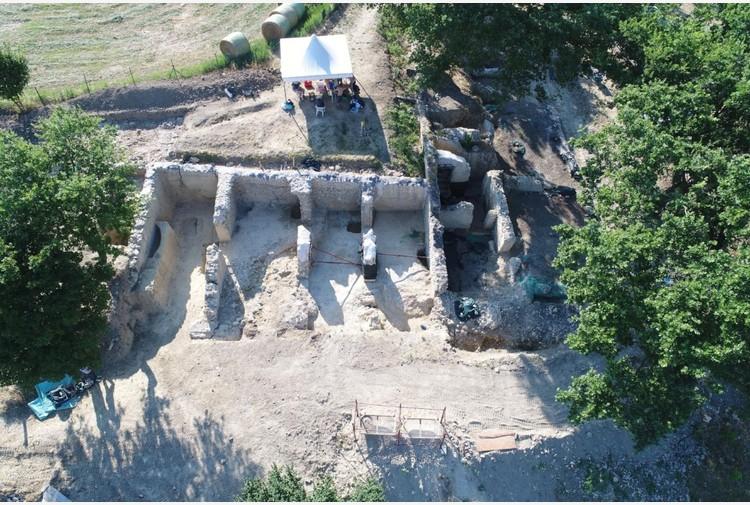 Nuove scoperte da scavi a Lugnano in Teverina