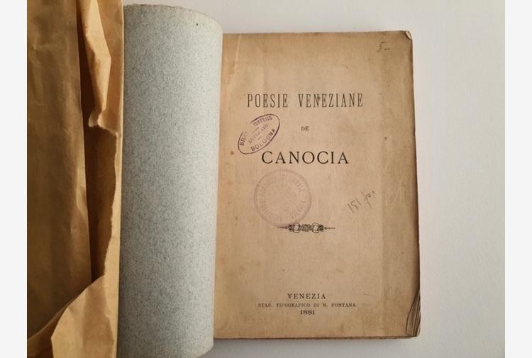 Antico libro di poesie veneziane restituito ad Archiginnasio
