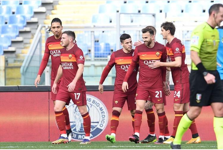 Roma-Spezia 4-3, decide Pellegrini, Fonseca salva la panchina