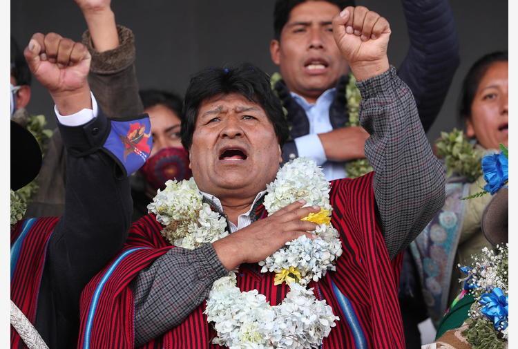 Covid: dimesso da clinica ex presidente boliviano Morales