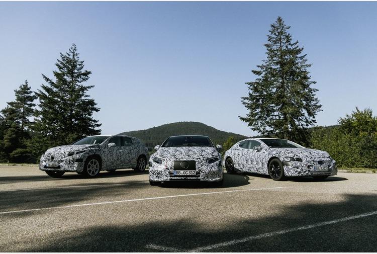 Mercedes-Benz EVA, l'architettura elettrica per i segmenti superiori
