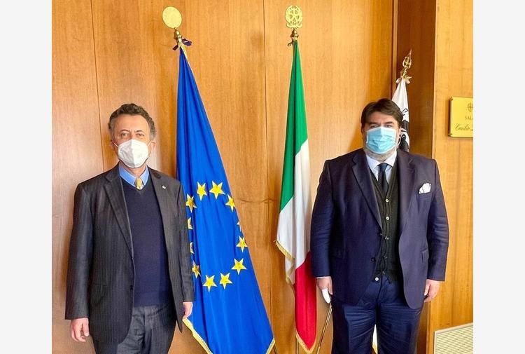 Sardegna, Presidente Solinas incontra ambasciatore Messico