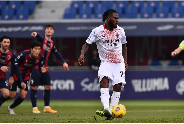 Rebic e Kessie, il Milan vince 2-1 a Bologna