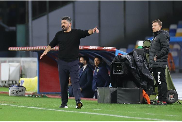 Gattuso 'De Laurentiis? Un po' di delusione c'è'