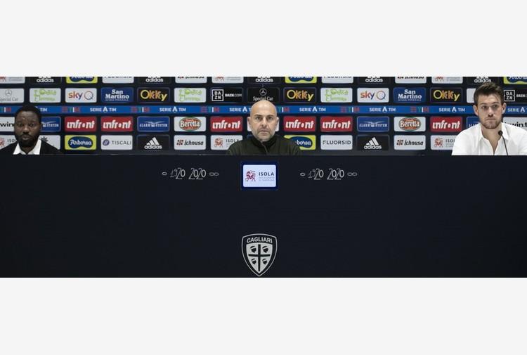 Cagliari: Rugani e Asamoah, siamo pronti a scendere in campo
