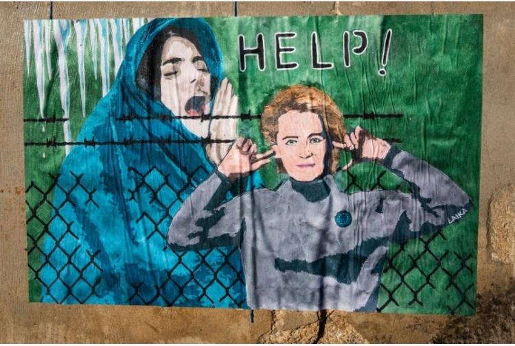 Laika, 4 opere della Street Artist per dire basta a violenza