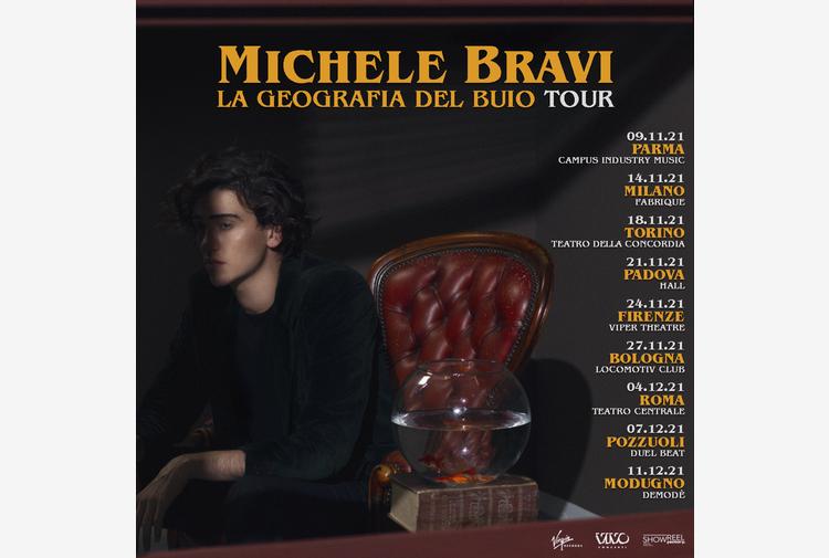 Michele Bravi annuncia La Geografia del Buio tour