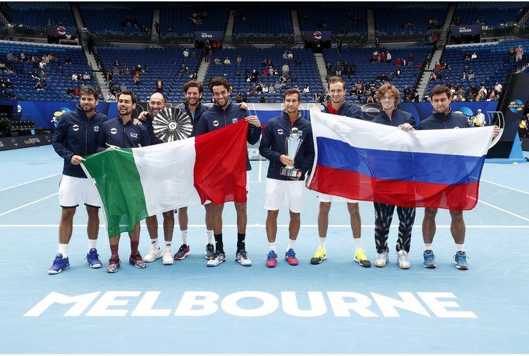 Rublev e Medvedev ingiocabili, la Russia si prende l'ATP Cup