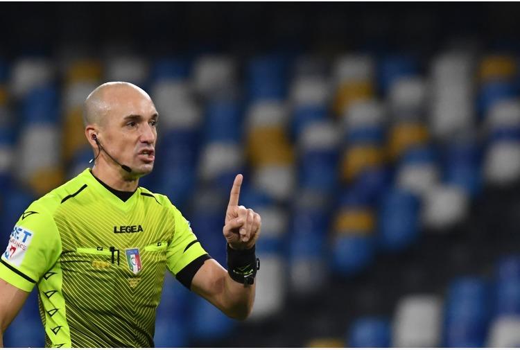 Fabbri arbitro di Inter-Lazio, Napoli-Juve a Doveri