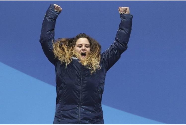 Mondiali snowboard: Moioli argento in svezia 'Dedica per Sofia'