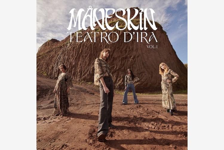 Maneskin, il 19 marzo il nuovo album Teatro d'ira