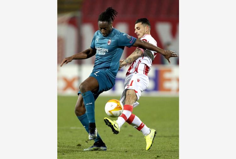 Europa League: Stella Rossa-Milan 2-2