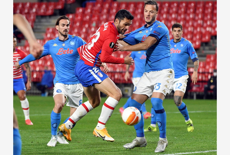Europa League: Granada-Napoli 2-0