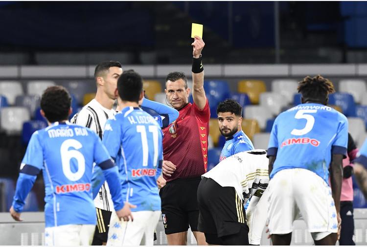 Doveri arbitra il derby Milan-Inter, Atalanta-Napoli a Di Bello