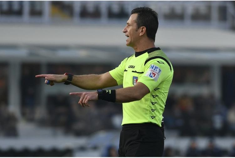 Serie A: Doveri arbitrerà Milan-Inter, Atalanta-Napoli a Di Bello