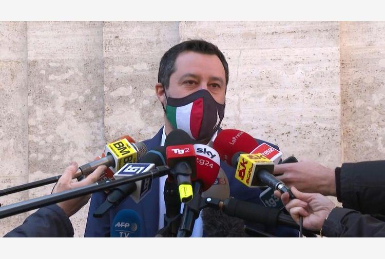 Coronavirus, Salvini: zona rossa nazionale non ha senso