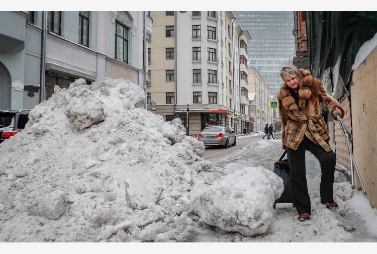Russia: notte gelida a Mosca, con punte oltre i -30 gradi