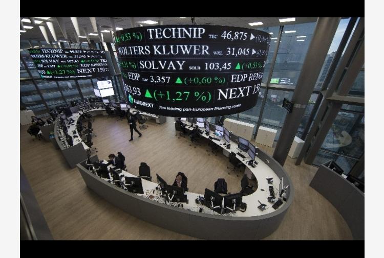 Borsa: Europa apre positiva, Parigi +0,24%, Londra +0,32%