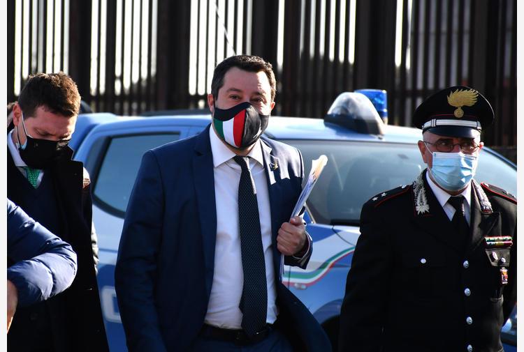 Matteo Salvini a palazzo Chigi