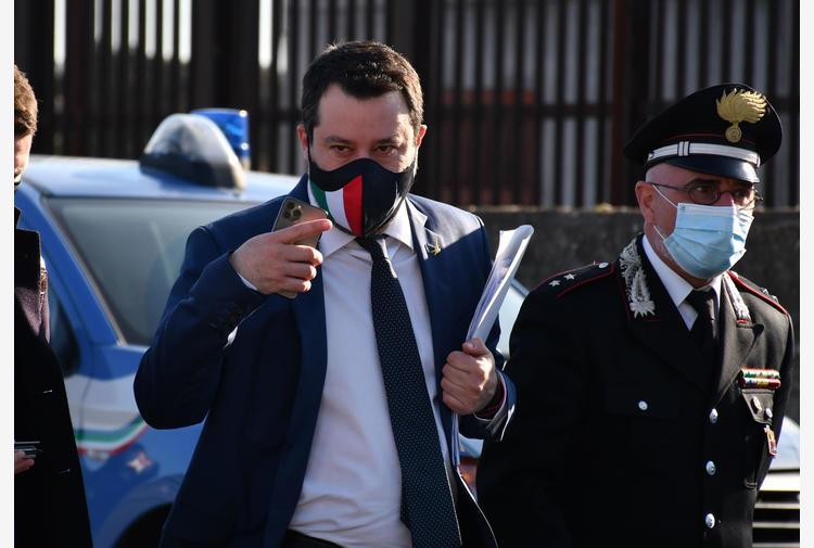 Covid: Salvini, parlato di riaperture con Draghi
