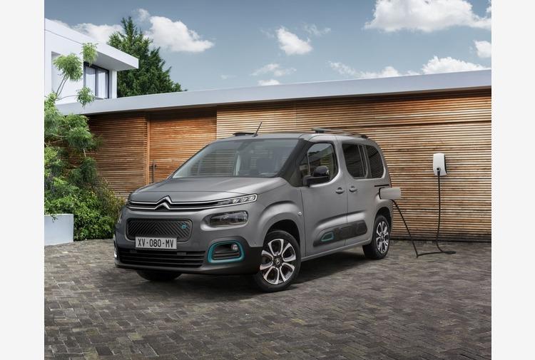 Con ë-Berlingo Citroën completa la versatilita' del multispazio