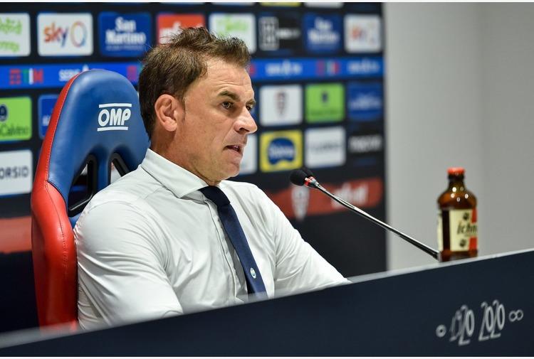 Semplici 'Valori importanti e fiducia, il Cagliari può farcela'