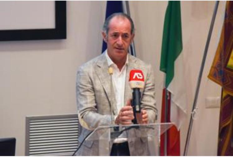 Covid Veneto, Zaia: 'Oggi aumento ricoveri, preoccupa'