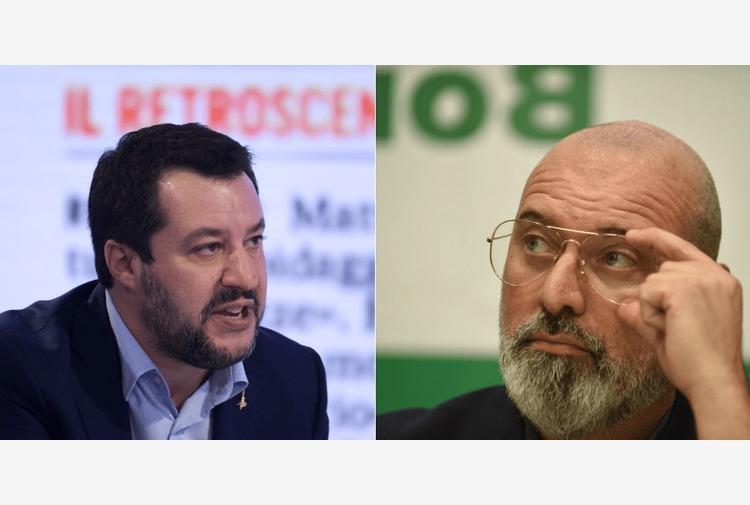 """Salvini: """"Bene l'appoggio di Bonaccini sui ristoranti, è buonsenso"""""""