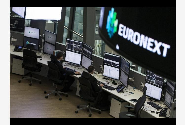 Borsa: Europa debole in apertura, Parigi -0,18%, Londra -0,53%