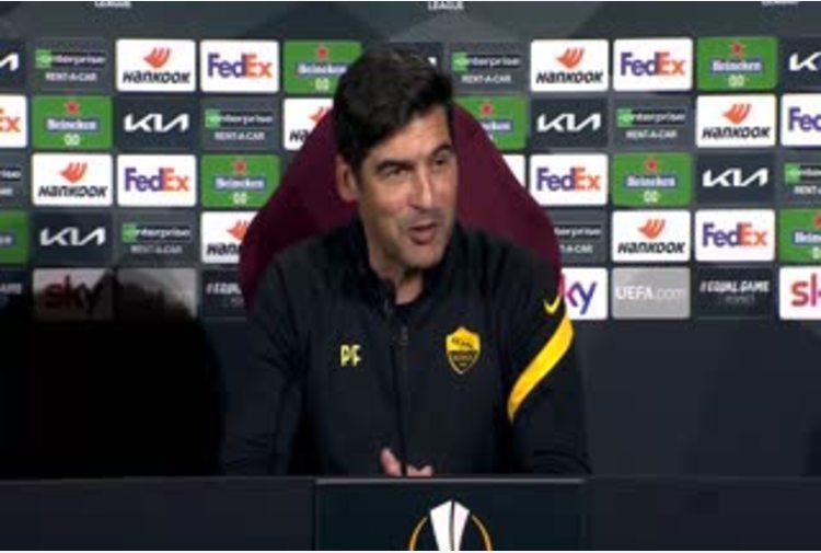 Europa League, Fonseca: 'Non abbiamo ancora passato il turno