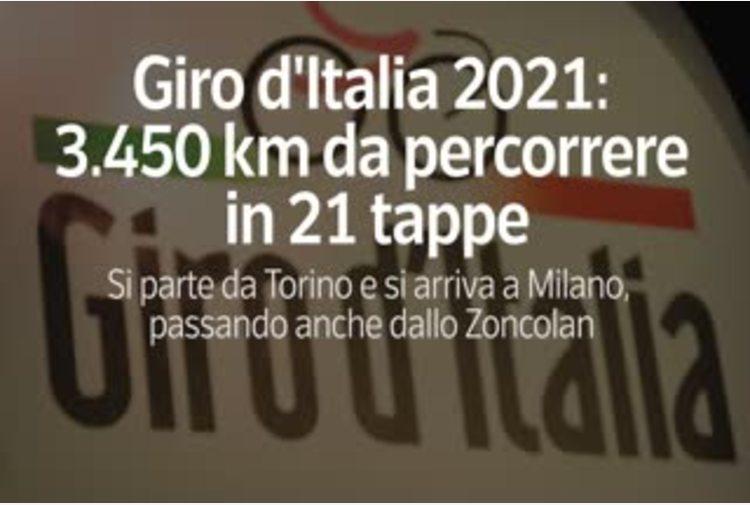 Giro d'Italia 2021: 3.450 km da percorrere in 21 tappe