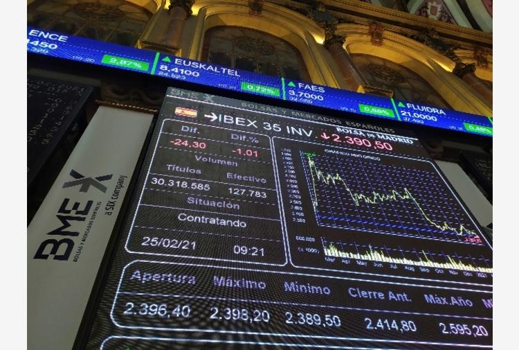 Borsa: Europa peggiora con farmaci e bevande, bene le banche