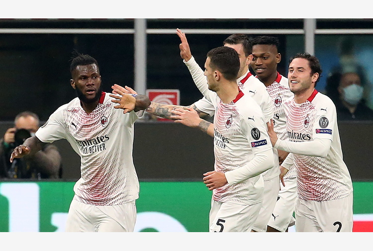 Europa League: 1-1 con Stella Rossa, Milan agli ottavi