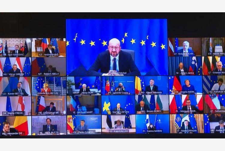 Videoconferenza leader Ue: rafforzare sicurezza e difesa