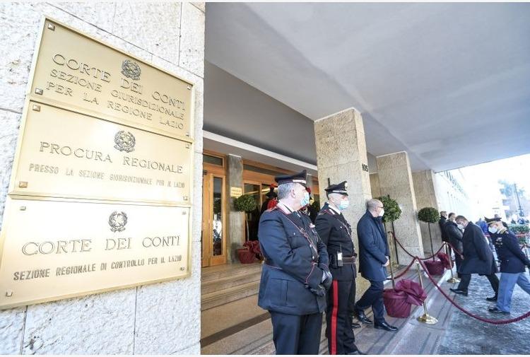 Corte dei conti 'Nel Lazio giustizia efficiente nonostante il Covid'
