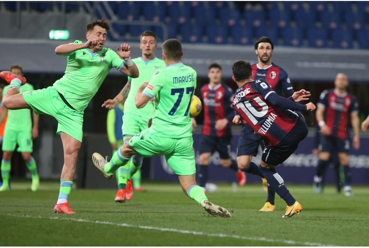 Serie A: Bologna-Lazio 2-0
